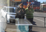 Reflections of Kiwi pbasers Janice and Dawn.