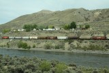 Freight train... on way to Kamloops