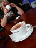 Coffee  Chai Lattee  to finish
