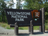 Entrance of the Yellowstone National Park