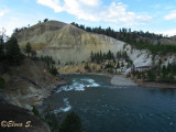 Canyon and Yellowstone river