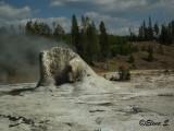 Giant geyser