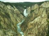 Canyon and falls