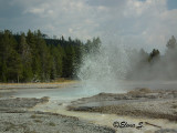 Small geyser in action