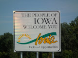 On the road of Iowa...