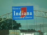 On the road of Indiana...