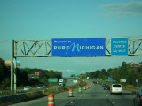 On the road of Michigan