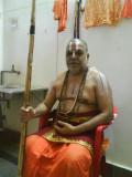 30 HH Thirukkurungudi Jeeyar arrival for ananthaazhwan sattrumurai.jpg