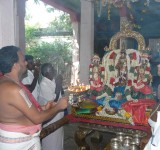 Tiruvaaradhanam during Angurarpanam .JPG