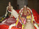 Aacharyar with Periyalwar on Alwar Satumarai Day.JPG