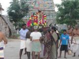 Veedhi Purappadu on Kruthigai Tirunakshatram (Purattasi).JPG