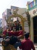 07_2011_Srivilliputtur_Thiruvaadipuram_Day07_Morning_EnteringKuppanIyengarSwamiThirumaaligai.JPG
