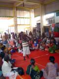 16_2011_Srivilliputtur_Thiruvaadipuram_Day08_Afternoon_SrivaishnavaasEnjoyingNaamaSankeerthanamInFrontMandapam.JPG