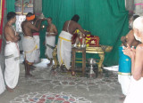 Sri Perumal Bahumanam during Tiruppavai Session.JPG