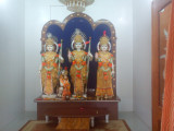 Sri Rama, Seetha, LakshmaNA and Hanumanji