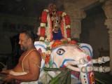Thirupputkuzhi Sri Vijayaragavaswamy Brahmothsavam Day 6 - Evening - Yanai vahanam