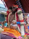 Thiruvallikeni Sri Parthasarathy Swamy Vennai Thazi Kannan Thirukolam - Thanga Pallakku Purappadu