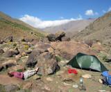 Morroco, Atlas mountains, Azib Likemt camp