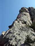 Calanques climbing
