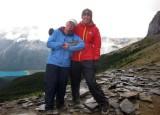 Brian and Martina at the burgess shale