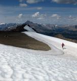 Mt Richardson summit snow