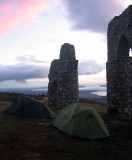 Fyrish camp near home in Scotland