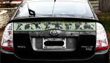 Prius small rear window screen