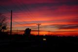 Highway 136 Sunset