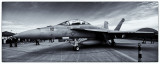 F18 in Black & White