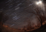 Winter Star Trails