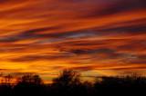 Ground Hog's Day Sunset