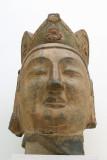 Head of an Attendant Bodhisattva