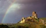 Corfe Castle Rainbow, Dorset