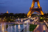Eiffel Dusk