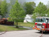 05/14/2012 Dumpster Fire Rockland MA