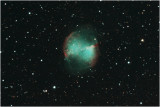The Dumbbell Nebula, M27, In Vulpecula