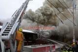 Woonsocket RI - 6 Alarm Mill Fire; 229 1st Avenue - February 27, 2011