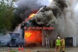 Charlton MA - Truck fire extends to Garage; 184 Burlingame Rd. - August 28, 2011