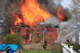 Douglas MA - Barn fire; 75 North St. - April 12, 2012