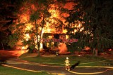 Uxbridge MA - Structure fire; 629 E. Hartford Ave. - September 3, 2012