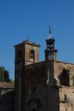 Trujillo with many nesting storks