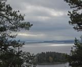 View from Bergsklätten, Glafsfjorden, Arvika