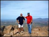 Kim and Greg at the Summit