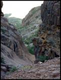 Where the Cliffs Narrow