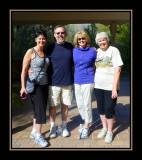 Diane, Sandy, Coleen &  Debi at Arboretum