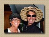 Heather &  Rob Hamming it Up at Orveas Bay Resort