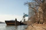 Loading Grain at Henry