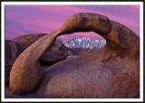 Mobius Arch at Sunrise