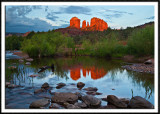 Last Light On Cathedral Rock