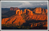 Monsoon Light  on Cathedral Rock